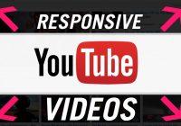 Tạo Responsive Youtube cho tất cả trình duyệt, điện thoại
