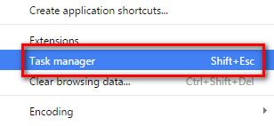 đóng tab bị treo trên Google Chrome 2