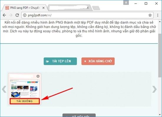 chuyển đổi ảnh PNG sang file PDF 3
