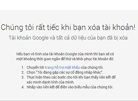 xóa vĩnh viễn tài khoản Gmail khỏi Google 41