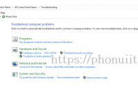 Hướng dẫn tự động tìm kiếm lỗi Windows 10