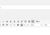 Bật trình soạn thảo đầy đủ trong WordPress