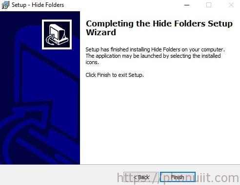 Phần mềm khóa file và thư mục Hide Folders 5.3