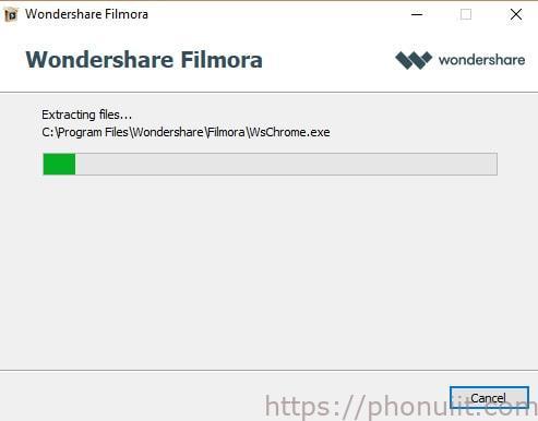 phần mềm wondershare Filmora full