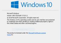 Tải Windows 10 Redstone 4 Version 1803 – Win 10 mới nhất