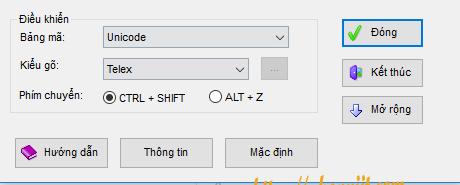 unkikey phần mềm gõ tiếng việt