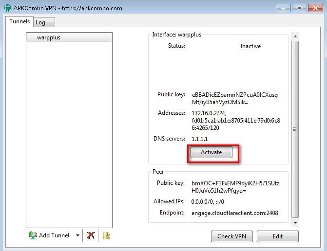 tăng tốc truy cập web WARP 1.1.1.1