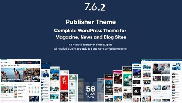 Share themes Publisher v7.6.2