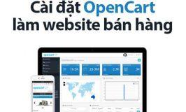 Cai Dat Opencart Lam Website Ban Hang Online