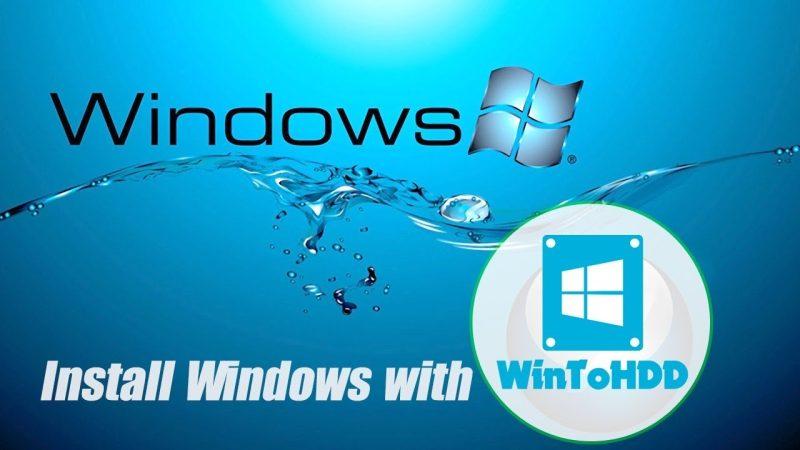 Cai Windows Truc Tiep Bang Wintohdd